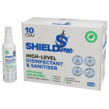 SHIELDme Antiviral Hand Sanitiser - 120ml Spray - Pack of 10