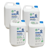 SHIELDme Antiviral Surface Disinfectant & Sanitiser - 5 Litre - Pack of 4