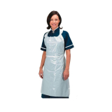 White Disposable Polythene Aprons - Box of 600