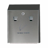 Smokers Station Wall Mountable Cigarette Bin