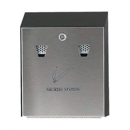 Smokers Station Wall Mountable Cigarette Bin