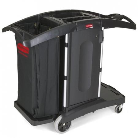 Rubbermaid Compact Folding Housekeeping Cart