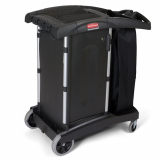 Rubbermaid Compact Turndown Housekeeping Cart