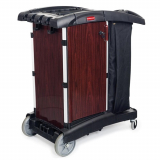 Rubbermaid Deluxe Panelled Compact Housekeeping Cart