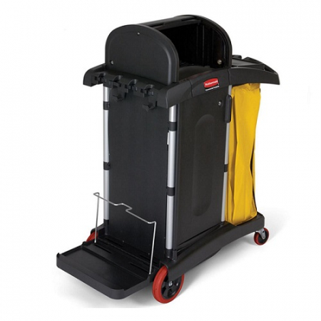 Rubbermaid HYGEN High Security Cleaning Cart