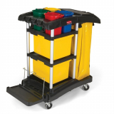 Rubbermaid HYGEN MicroFibre Cleaning Cart