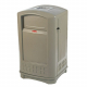 Rubbermaid Landmark Series ll Litter Bin with Ashtray - 189 Litre
