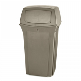 Rubbermaid Ranger Litter Bin - 133 Litre