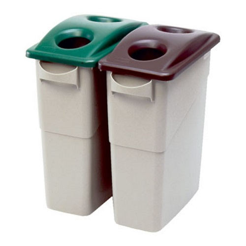 ... Slim Jim Recycling Container - 87 Litre ...  sc 1 st  Bin Shop & Slim Jim Recycling Bin - 87 Litre Capacity - Buy online from Bin Shop