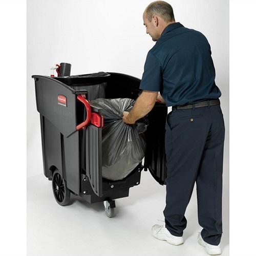 Wheelie Bin Cleaning >> Mega BRUTE Mobile Waste Collector - Buy online from Bin Shop