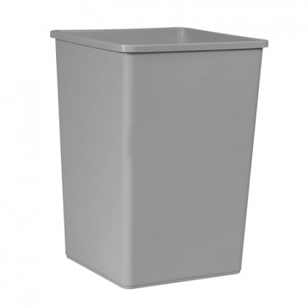 Untouchable Large Square Litter Bin - 132 Litre