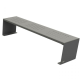 Kube Design Steel Bench