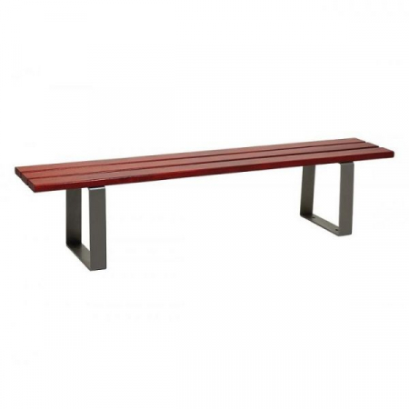 Riga Wood and Steel Bench