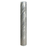 Anti-Ram Raid Galvanised Steel Bollard