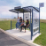 Conviviale Bus Shelter with Poster Case