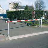 Raising Boom Barrier