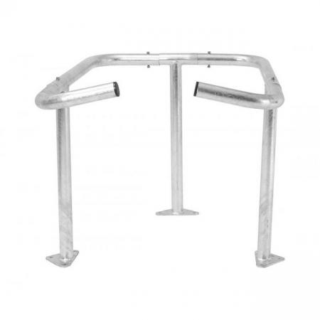 Steel Wheelie Bin Enclosure