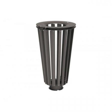Lofoten Steel Litter Bin - 80 Litre