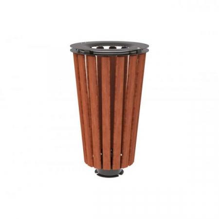 Lofoten Wooden Litter Bin - 80 Litre