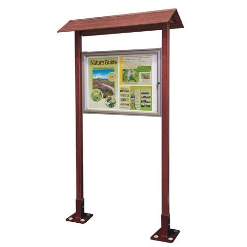 Small Park Notice Board Buy Online From Bin Shop