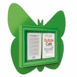 School Fun Butterfly 2x A4 Poster Case