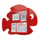 School Fun Fish 6x A4 Poster Case