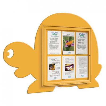 School Fun Tortoise 6x A4 Poster Case