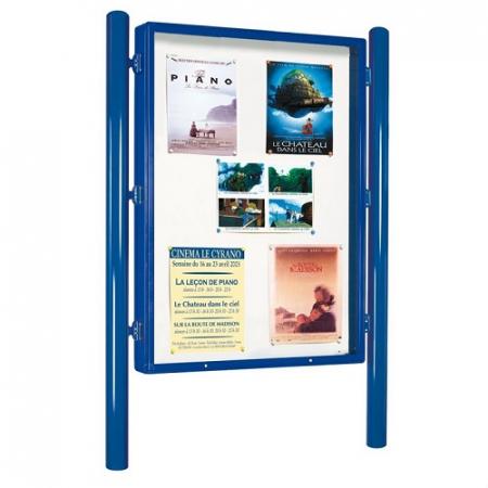 Vega Lockable Advertising Poster Display Case