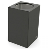Kube Design Steel Litter Bin - 120 Litre