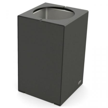 Kube Design Steel Litter Bin - 120 Litre