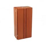 Seville Wooden Litter Bin - 100 Litre