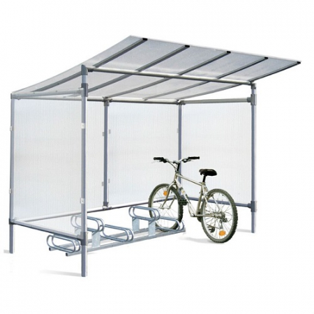 Economy Aluminium 5 Space Cycle Shelter