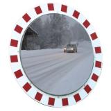 600mm Diameter Stainless Steel Anti-Frost & Anti-Condensation Traffic Mirror