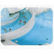 1000 x 800mm P.A.S Indoor Swimming Pool Safety and Surveillance Mirror