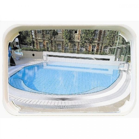 1000 x 800mm P.A.S Outdoor Swimming Pool Safety and Surveillance Mirror