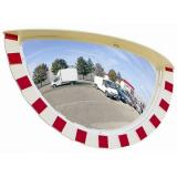 800 x 400mm Half Sphere Industrial Safety Mirror