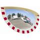900 x 450mm Half Sphere Industrial Safety Mirror