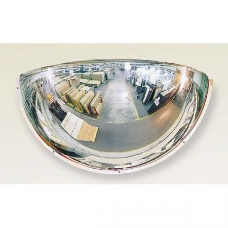 800mm Diameter PMMA Quarter-Sphere 180 Degree Industrial Safety Mirror