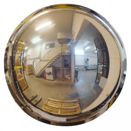 800mm Diameter Polymir Half-Sphere 180 Degree Industrial Safety Dome Mirror