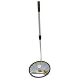 400mm Diameter Polymir Portable Inspection Mirror with Telescopic Pole and LED Light