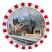 1000mm Diameter Stainless Steel Anti-Frost & Anti-Condensation Traffic Mirror