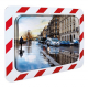 600 x 400mm Stainless Steel Anti-Frost & Anti-Condensation Traffic Mirror