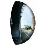 440 x 75 x 220mm Driveway Exit Traffic Mirror