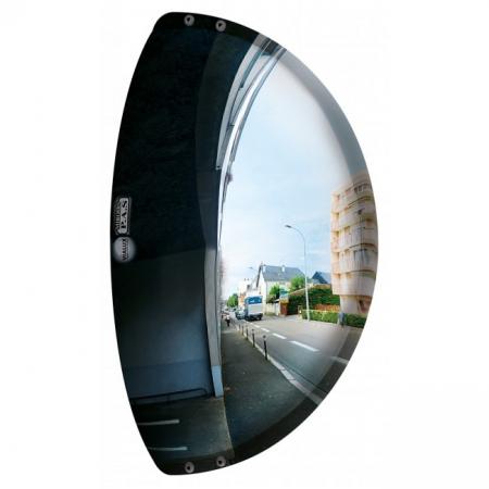 600 x 100 x 300mm Driveway Exit Traffic Mirror
