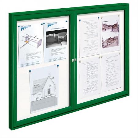 Tradition Dual Door Outdoor Poster Case - 8x A4