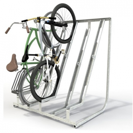 Semi Vertical Cycle Stand