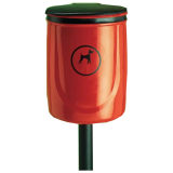 Post Mountable Doggybin Dog Waste Bin