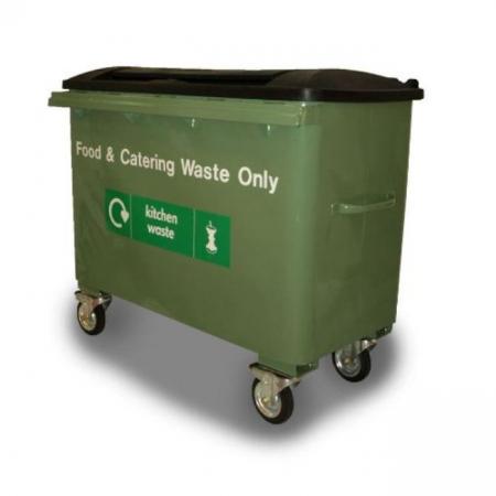 Taylor Continental Wheeled Bin - 500 Litre Capacity