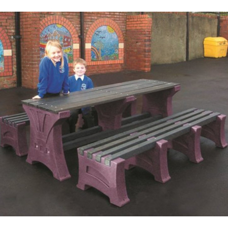 Premier Table and Bench Set - 8 Seater