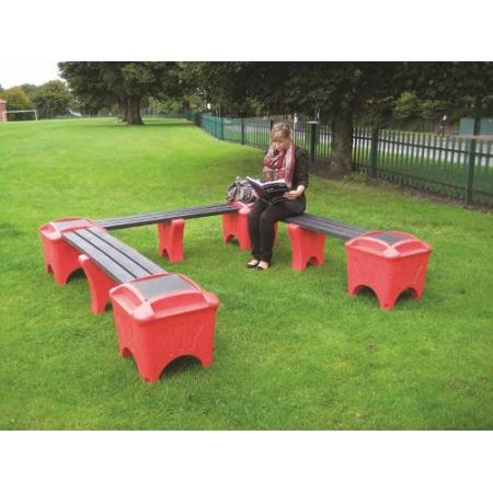 Modular Seating - U Shaped Bench